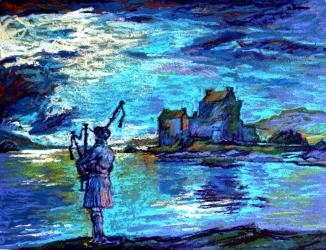 Piper Eilean Donan Castle