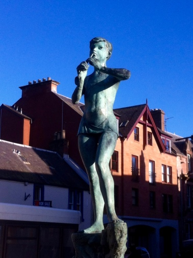 Peter Pan Statue, Kirriemuir.