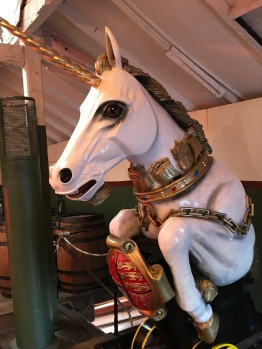 "Figurehead, sailing ship ""The Unicorn"""